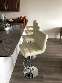 Bar stools beatiful chairs adjustable and swivel 1-$65/2-$125/3-$175/4-$230  Paterson, 07513