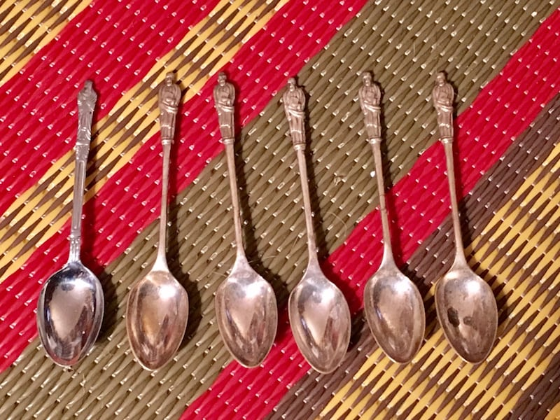 Antique apostle teaspoons f353a258-6cd1-4f03-a3af-36b334881259