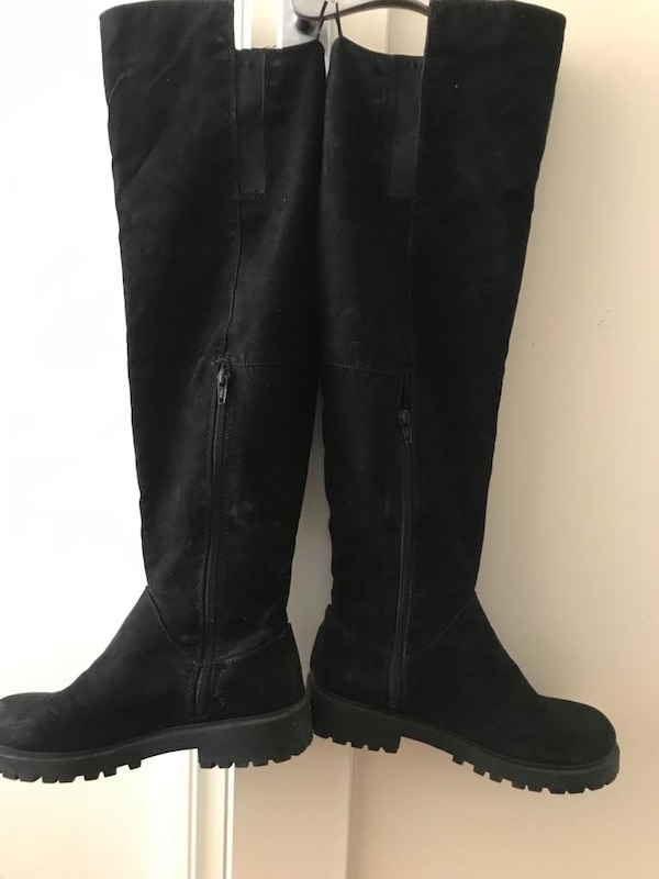 Black Boot(H&M's)-size39