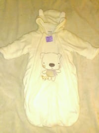 baby's white footie pajama Woodbridge, 22192