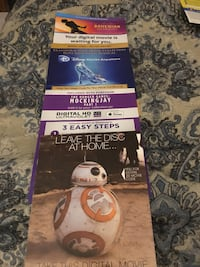 Movies for sale digital $5 each Chicopee, 01013