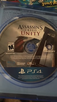 Sony ps4 Assassins creed (unity) Sumter, 29150