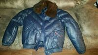 Vintage leather Goose country puff jacket Las Vegas, 89110