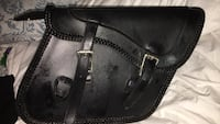 Motorcycle saddle bags storage compartments  Los Angeles