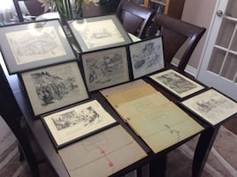 Drawings by Charles W Jefferys - Imperial Oil Collection