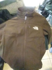 brown and black zip-up jacket San Francisco, 94109