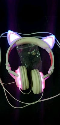 Auriculares orejas gato LED Alacant, 03699