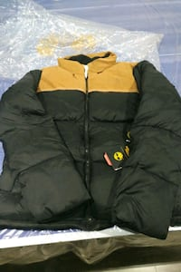 TIMBERLAND X THE NORTH FACE DOWN JACKET SIZE L 548 km