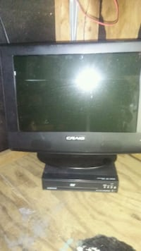 "Lcd tv 13"" w dvd player Saucier, 39574"