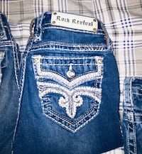 WOMENS ROCK REVIVAL JEANS AND MISS ME