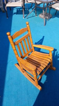 Child size rocking chair