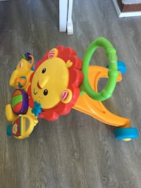baby's yellow and green activity walker Surrey, V3W 5G5