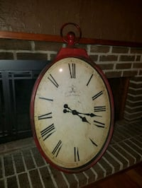 Red Antique Wall Clock (Pier 1 Imports) Falls Church, 22042