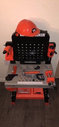 Black + Decker play workbench & tools Mesa, 85204