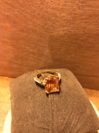 Beautiful! Rose gold color Amber Stone Ring Gainesville, 20155