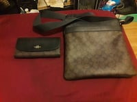 Authentic Coach Purse , With Authentic Coach Walle Warren, 48091