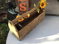 Mennonite wooden tool box '40's. Perfect seasonal decor. Deliver St Catharines, L2P 3L2