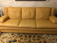Natuzzi made in Italy leather couch and chair Bolton, L7E 2R9