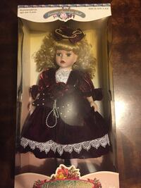 Barbie doll in black and white dress in box Norwich, 06360