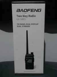 Baofeng X Radioddity UV-5RX3 Tri-Band Radio VHF South Gate, 90280