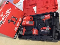 red and black Milwaukee cordless power tool with case Lake Worth, 33463