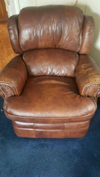brown leather recliner sofa chair Marion, 28752