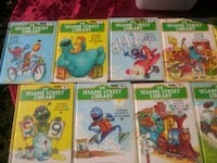 11 Sesame Street Library Books Bundle Washington