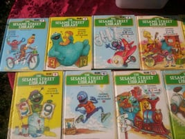 11 Sesame Street Library Books Bundle