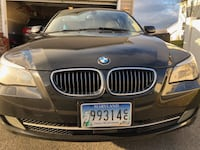 black BMW 5- series GERMANTOWN
