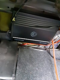Car Speakers and amplifier