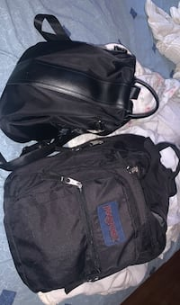 Two black book bags