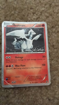 !SIGNED! Reshiram Bowie, 20715
