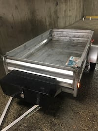 Galvanized Trailer