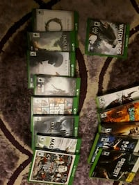 four Xbox 360 game cases Edmonton, T5N 1N5
