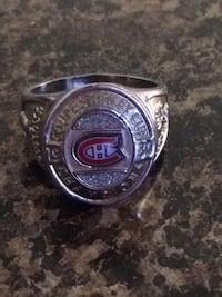 Montreal Canadian ring size 12 silver plated Edmonton, T5W