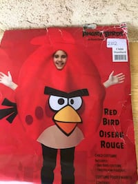 Child Angry Bird Costume Des Moines, 50316