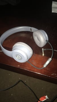 silver Beats by Dr. Dre headphones