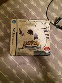 Pokémon soulsilver ds box and manuals/pokewalker cover 10$ Toronto, M8V 4B9