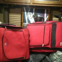 red and black luggage bag Mount Pleasant, 84647