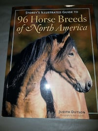Horse Breeds book & Horse decoration included