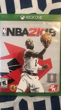 NBA 2K18 Xbox One game case Washington, 20011