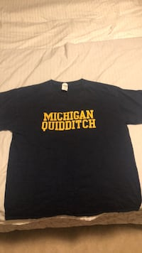 Adult Large Michigan Quidditch Tee Columbia, 65201
