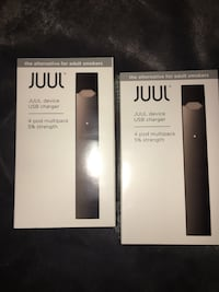 two Juul with pods brand new