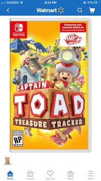Captain toad for switch  Calgary, T3K 4M5