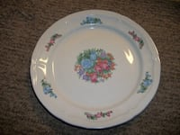 Pretty Floral Serving Plate Hagerstown