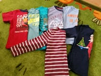 Size 4 t-shirts and size 5 long sleeves Cambridge