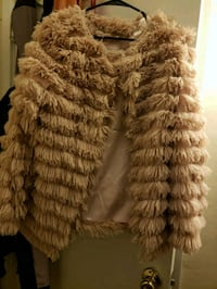 Faux fur jacket 34 mi