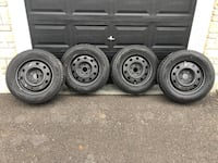 Dunlop Wintermaxx snow tires, steel rims and tire pressure sensors Clarington
