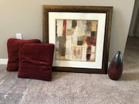 Decoration Package Deal - picture, two pillows and vase (price firm) Ocala, 34480