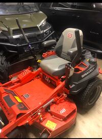 Gravely 48 inch zero turn lawn mower for sale